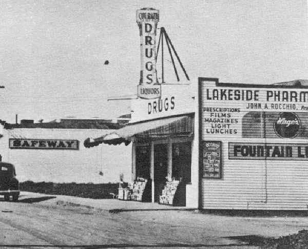 Rocchio's first drug store