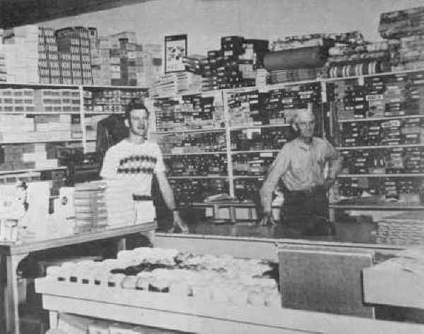 Inside Huffman Dept Store