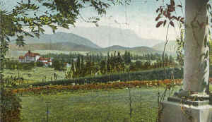 View of the Inn from Kleine 1905