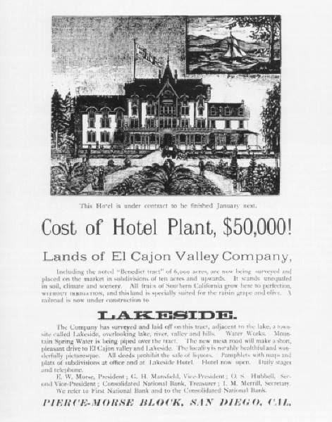 Ad for Lakeside Inn
