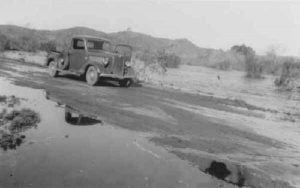 The San Diego River. Picture dated March 11, 1941