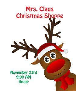 Christmas Shoppe Setup - November 23, 2019